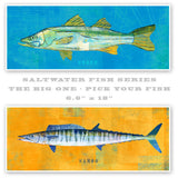 "The Big One Fish Print- Pick the Fish 6.6"" x 18"" and up"