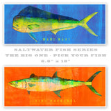 Saltwater fish prints by Sea Life Artist John W. Golden