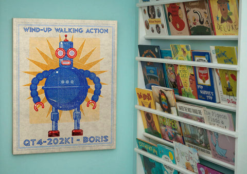 Pick the Robot Sci Fi Wall Art