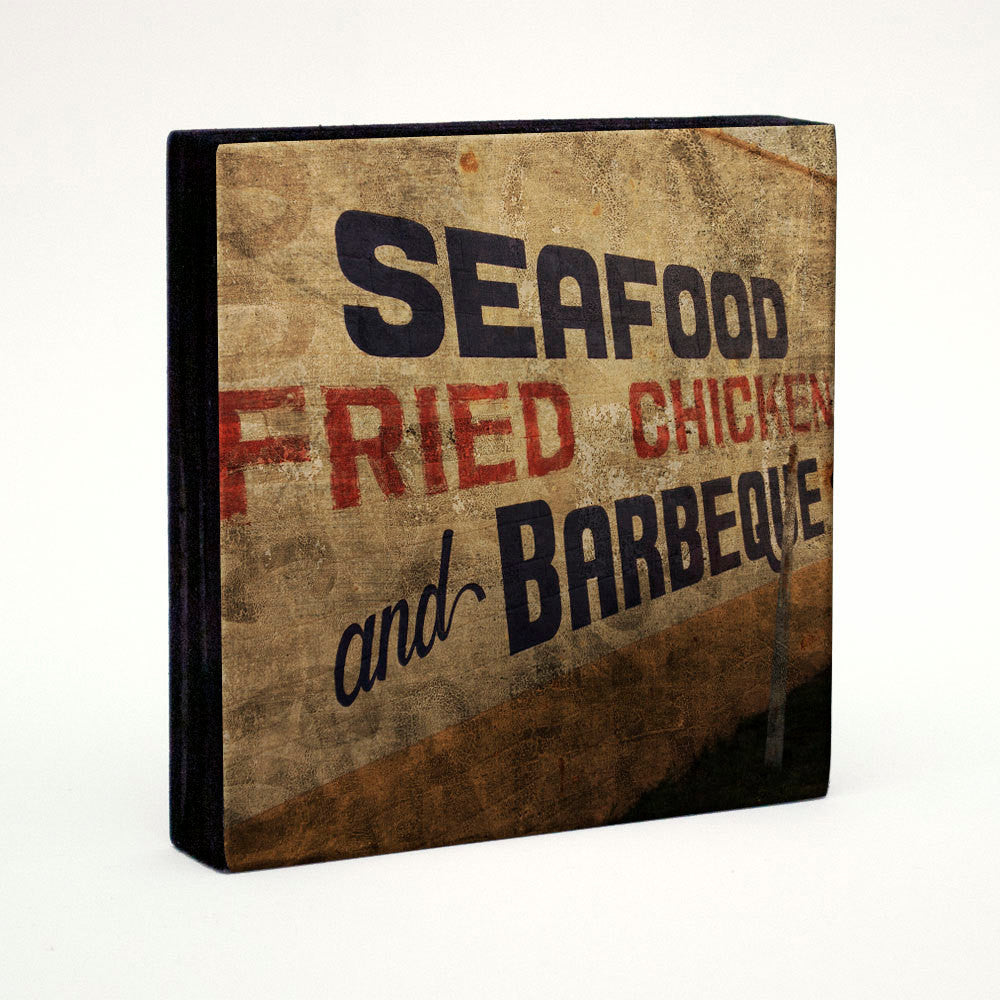 Seafood, Fried Chicken, and Barbeque- Pick the Print