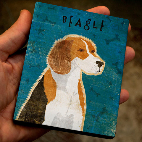 Beagle Art Block