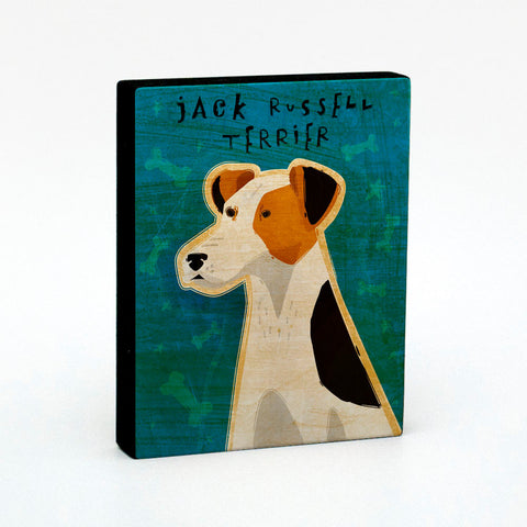 Jack Russell Terrier Art Block