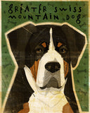 Greater Swiss Mountain Dog Art Block