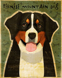 Bernese Mountain Dog Art Block
