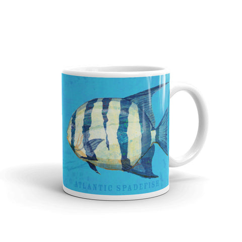 Atlantic Spadefish Mug by John W. Golden