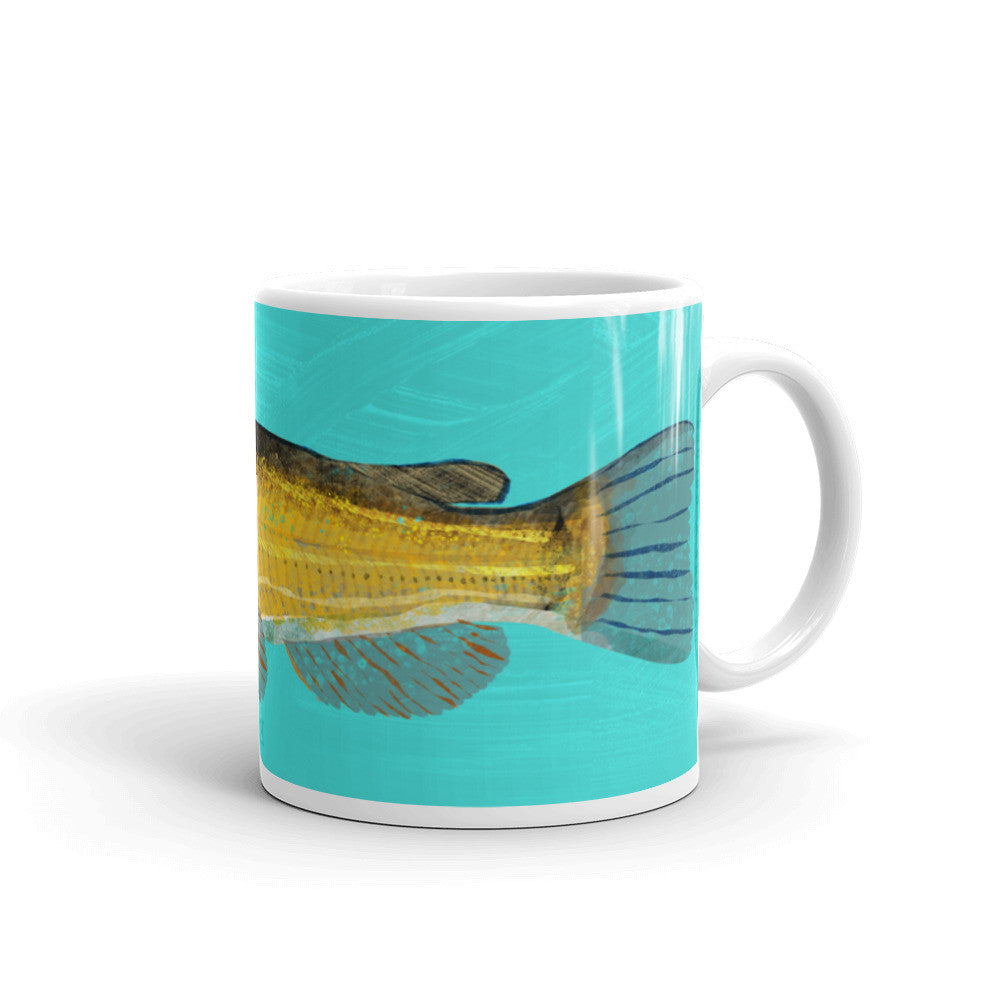 Black Bullhead Catfish Mug