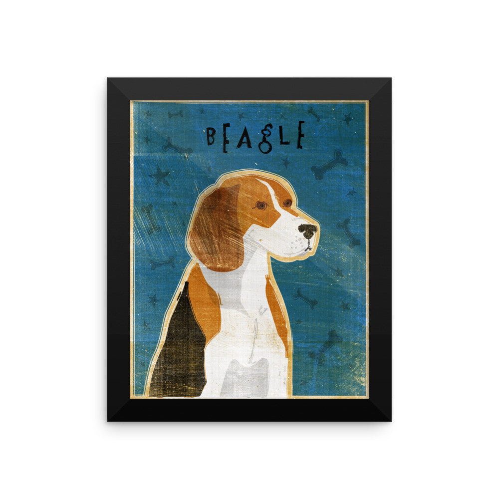 Beagle Framed poster