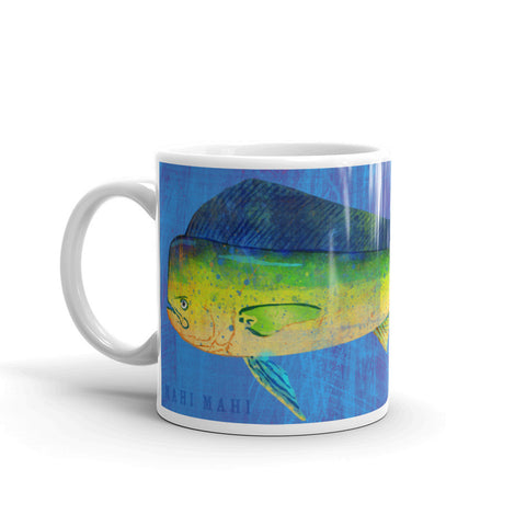 Mahi Mahi Mug by Saltwater Fish Artist John W. Golden