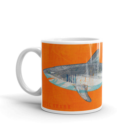 Bull Shark mug by John W. Golden is one of many great shark gifts