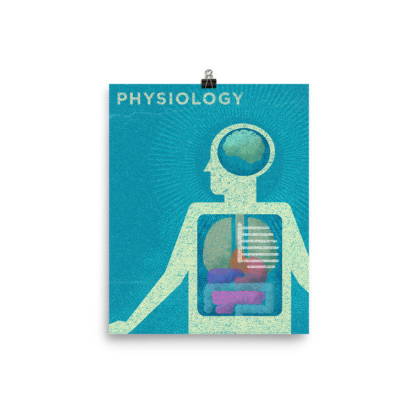 Physiology Poster - Science Series Poster