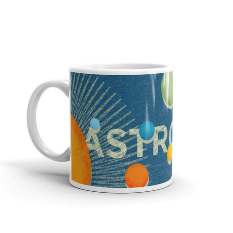 This Astronomy Mug makes a great Science Teacher gift