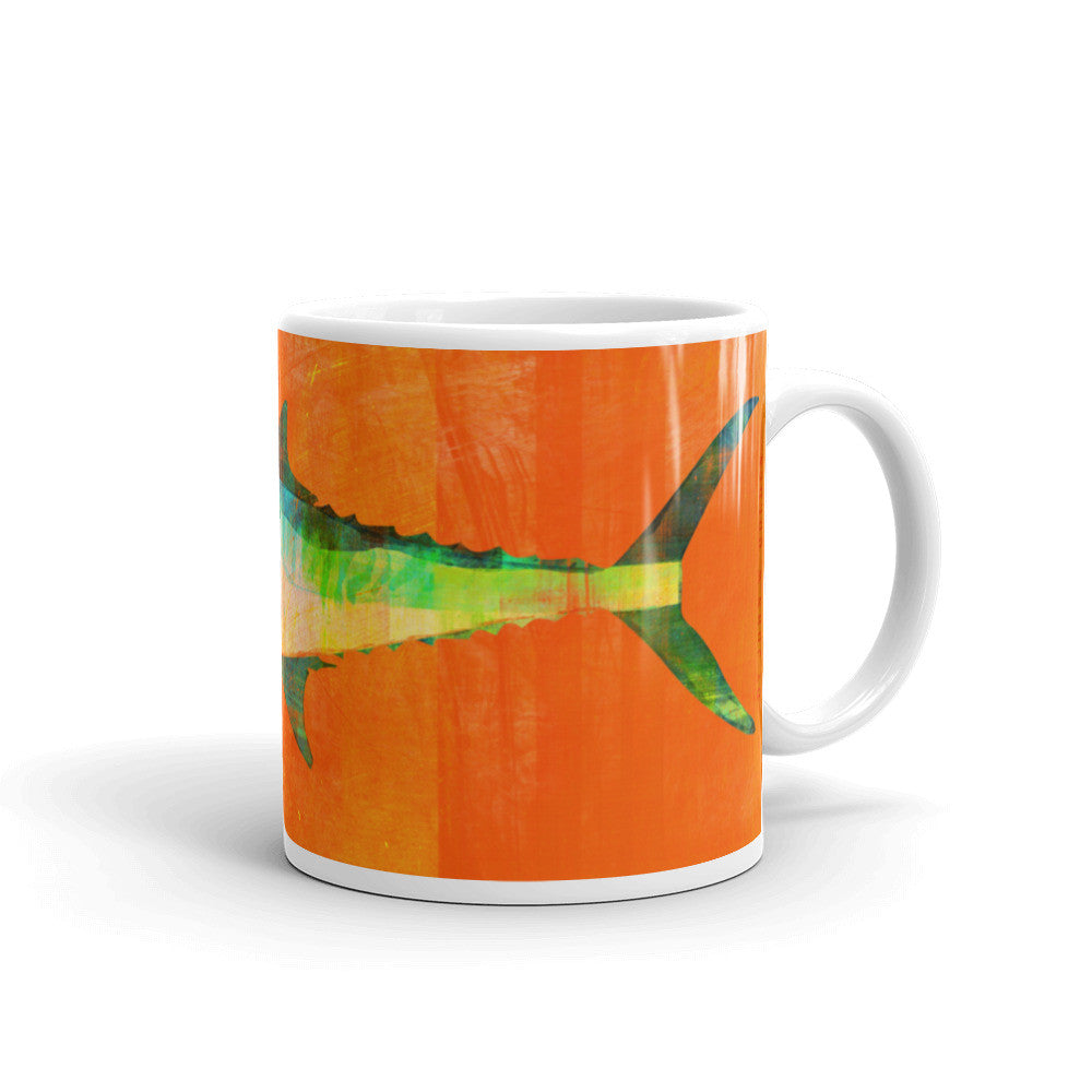 King Mackerel Mug by John W. Golden