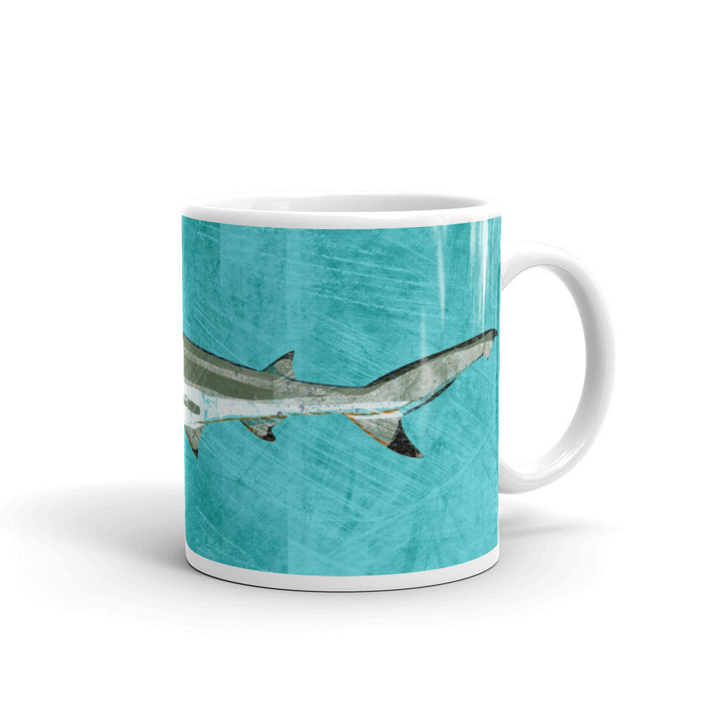 Blacktip Shark mugs by John W. Golden