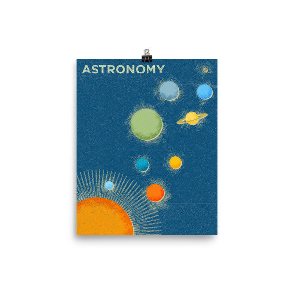 Astronomy Science Poster