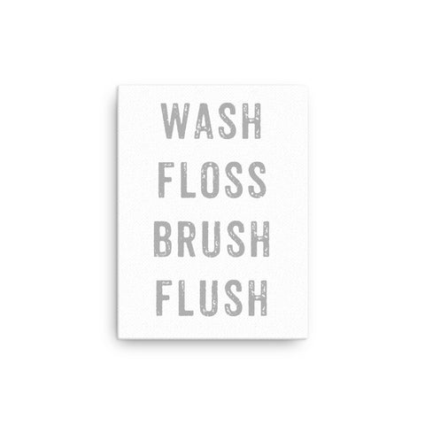 Wash Floss Brush Flush Canvas by Lee Golden for Pippastrella Press
