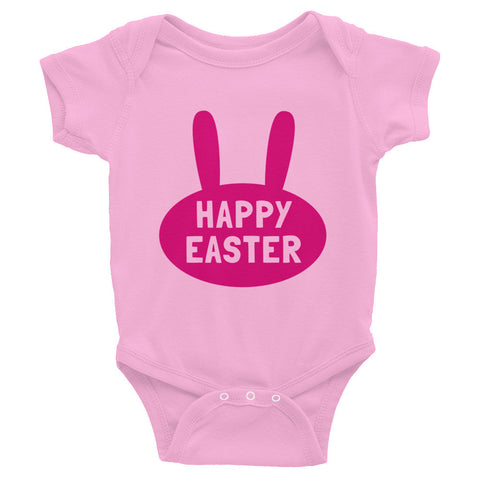 Happy Easter Infant Bodysuit- Bunny Ears