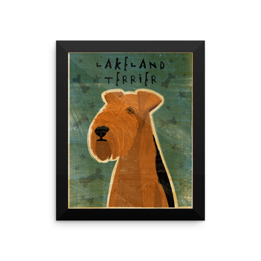 Lakeland Terrier Framed poster