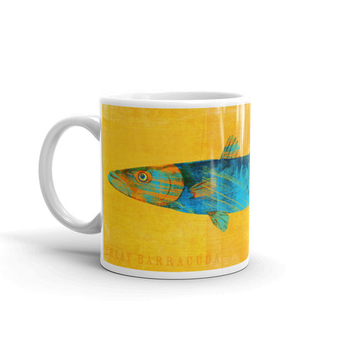 Great Barracuda Mug by John W. Golden
