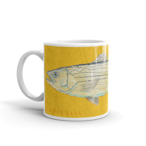 Striped Bass Mug