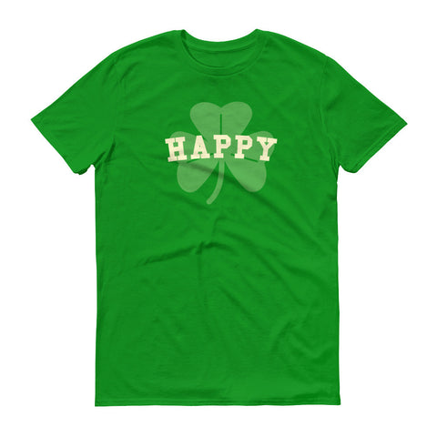 Happy Shamrock St. Patrick's Day Short sleeve t-shirt