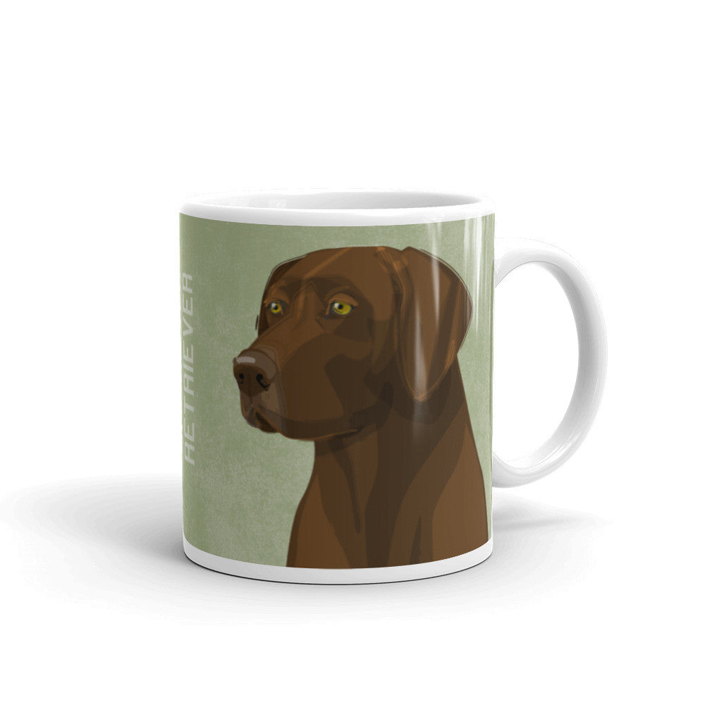 Chocolate Labrador Retriever Mug