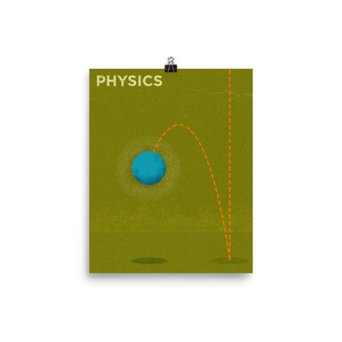 Physics Poster - Science Series