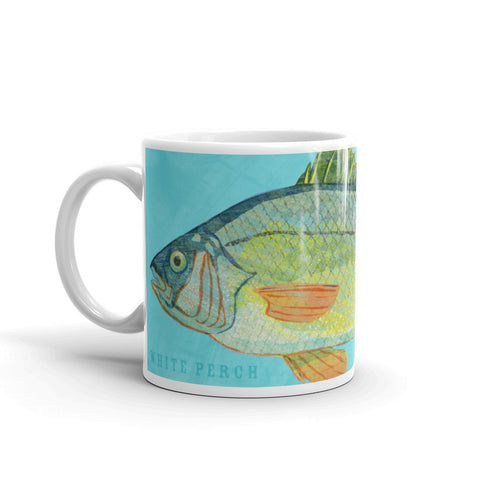 White Perch Mug