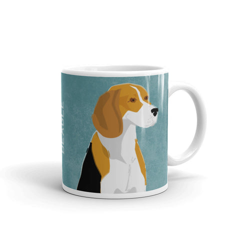 Beagle Mug by John W. Golden