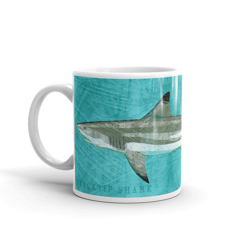 Blacktip Shark Mugs available from John W. Golden