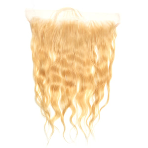 Raw Cambodian Blonde Wavy Lace Frontal