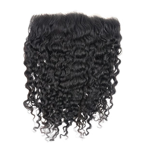 YUMMY Raw Burma Curly Lace Frontal