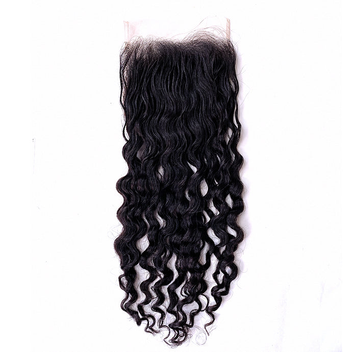 YUMMY Raw Deep Wave Burma Lace Closure