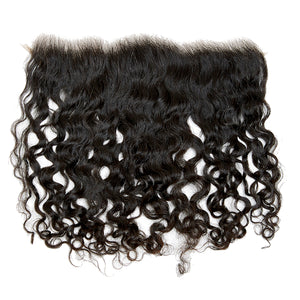 Raw Cambodian Curly Wave Lace Frontal