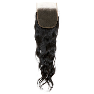 Raw Cambodian Natural Wave Lace Closure