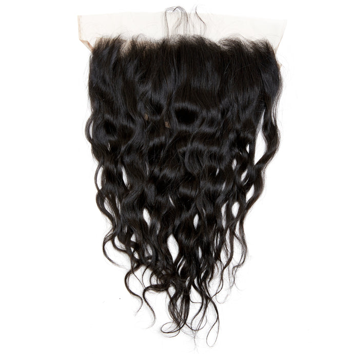 RAW Cambodian Wavy Elegance Lace Frontal