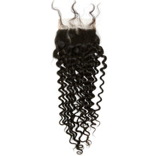 Load image into Gallery viewer, HD LACE YUMMY Virgin Deep Curl Lace Closure