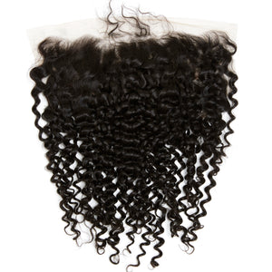 YUMMY Virgin Deep Curl Lace Frontal-HD LACE