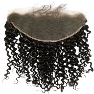 YUMMY Virgin Loose Curl Lace Frontal