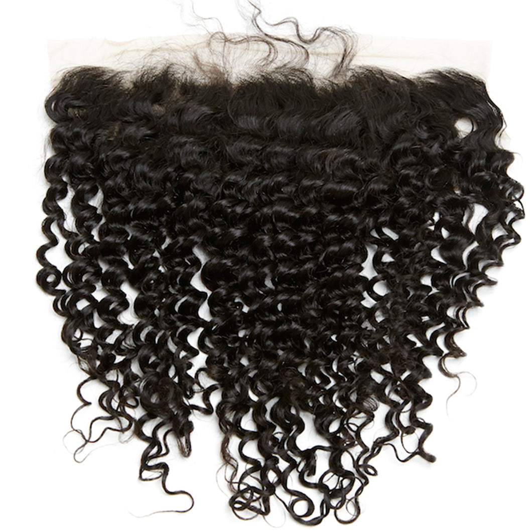 YUMMY Virgin Loose Curl  HD Lace Frontal