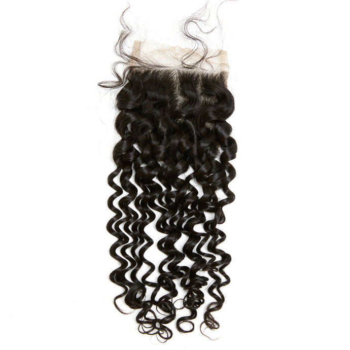HD LACE YUMMY Virgin Loose Curl Lace Closure