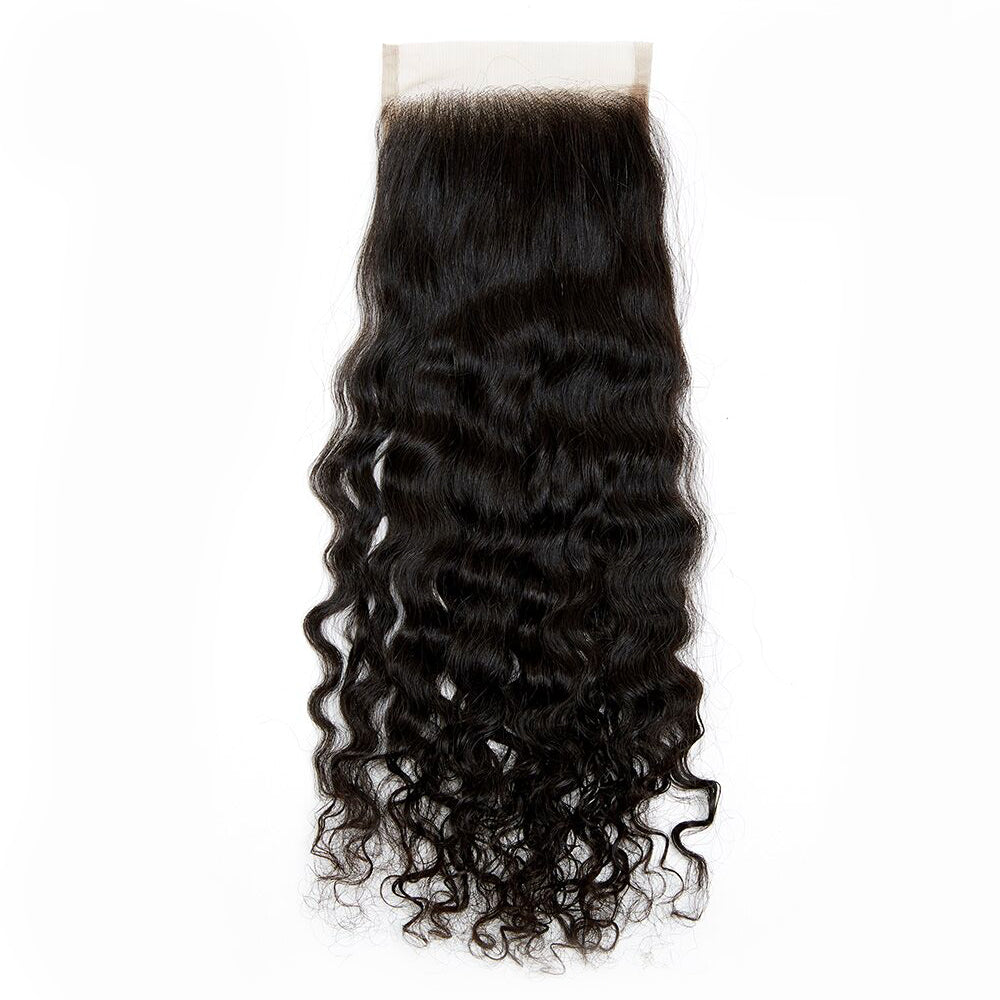 Raw Cambodian Curly Wave Lace Closure