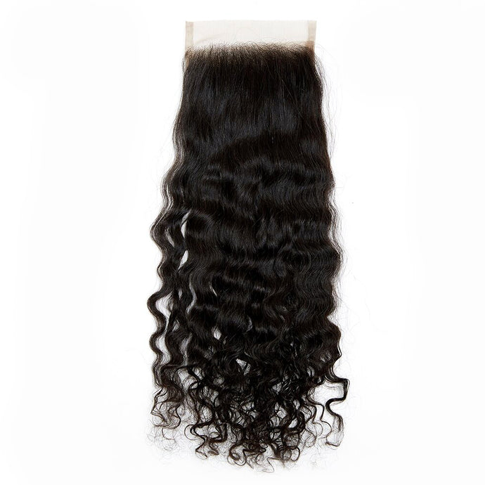 Pre-Sale: Raw Cambodian Curly Wave Lace Closure