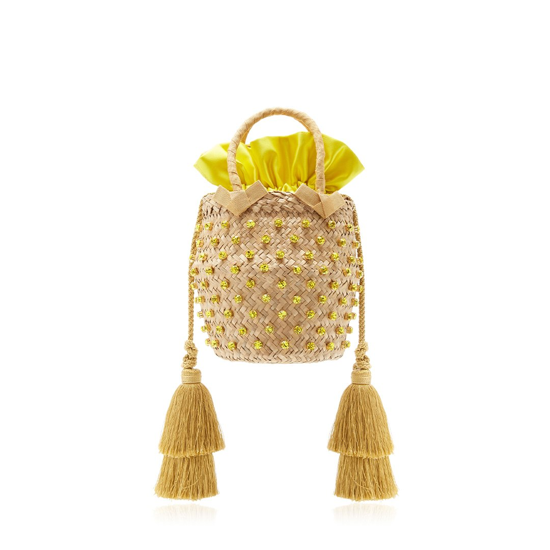Carol Basket Yellow