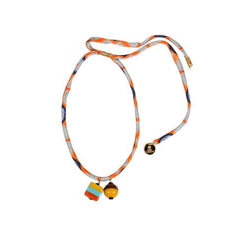 Barton Necklace Orange