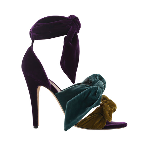 Bowie Heels Purple-Green