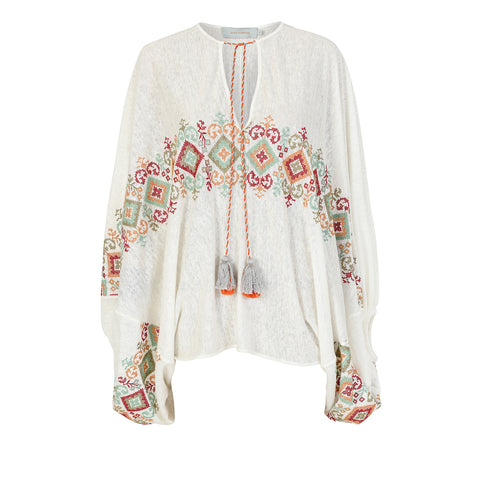 Geva Blouse Embroidered
