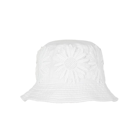 Hammon Bucket Hat White