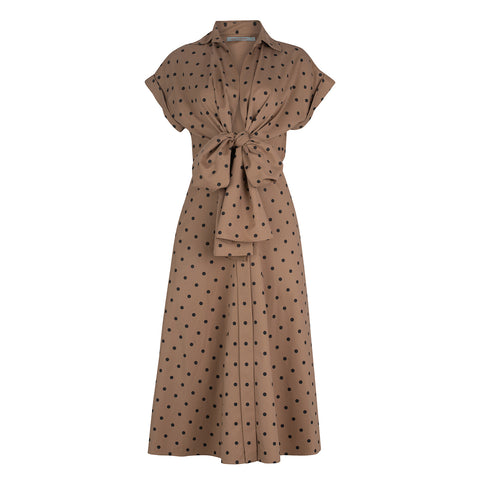 Rigone Dress Dotted