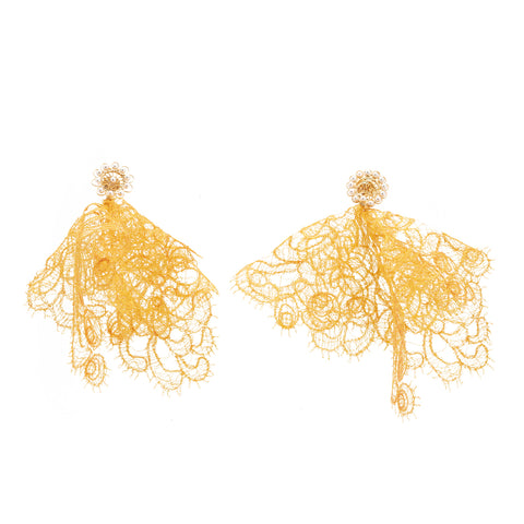 Deandra Earring Yellow