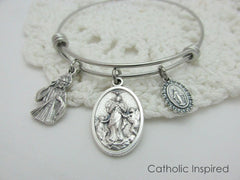 Catholic Bangle and Charm Bracelets